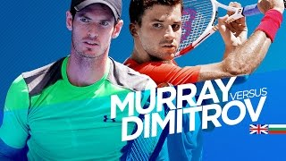 Andy Murray vs Grigor Dimitrov Highlights HD PART 1 Australian Open 2015