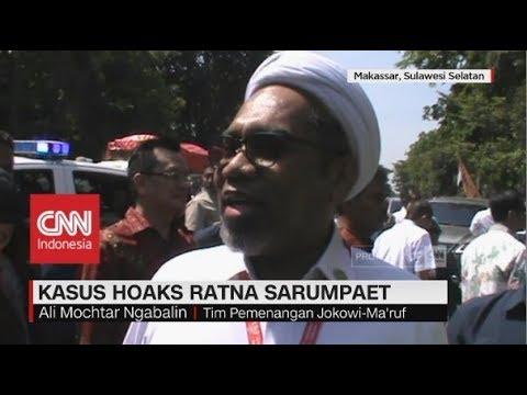 Ngabalin Tanggapi Kasus Hoaks Ratna Sarumpaet