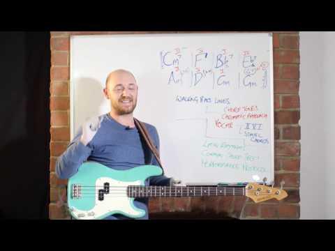Beginning Jazz Workshop for Bassists /// Scott's Bass Lessons