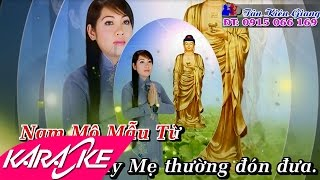 Nhành Dương Cứu Khổ Karaoke - Diệu Thắm | Nhạc Phật Giáo MV Beat