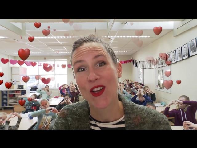 Alle jongens verrassen met Valentijnsdag
