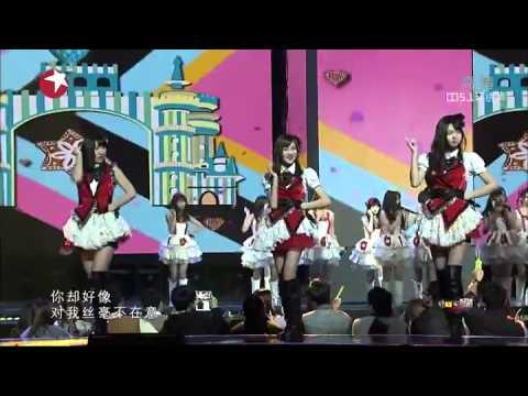 SNH48 KFC 爱的幸运曲奇 - Dong Fang Feng Yun 03.31.2014