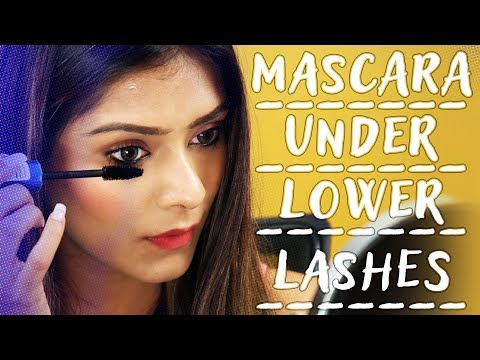 How To Apply Mascara Under Your Lower Lashes | Mascara Tips & Tricks | Makeup Tutorial | Foxy Makeup