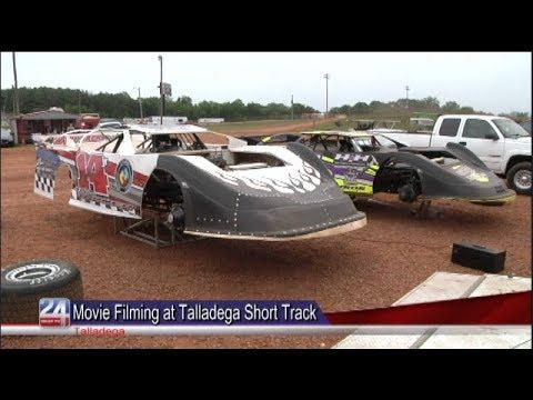 Talladega Short Track Becomes Movie Set