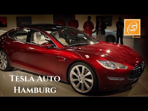Tesla Auto Showroom Hamburg, Germany