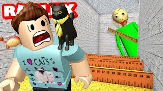 ESCAPE BALDI OBBY IN ROBLOX
