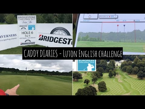 European Challenge Tour Course Vlog - a course with NO bunkers??!