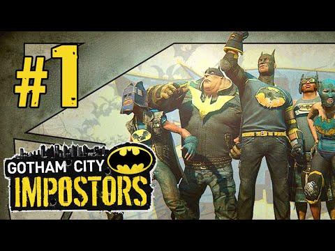 "Gotham City Impostors - Multiplayer Gameplay (Part 1) ""Gotham's Most Wanted"""