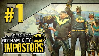 "Gotham City Impostors - Multiplayer Gameplay (Part 1) ""Gotham"