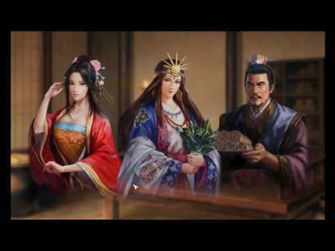 """Romance of The Three Kingdoms 13 Fame and Strategy,  """"赤媛 The Red Beauty"""" part 01: Befriending Himiko"""