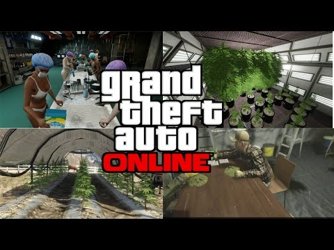 GTA Online - Solo Resupplying Cocaine Factory & Weed Farm
