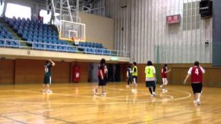 バスケット【前半戦】 khbc vs Little zoo