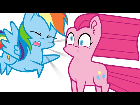 MLP Animation - Ask Ponies - Pinkie Pie And Rainbow Dash