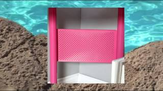Calico Designs 55122 Study Corner Desk Pink