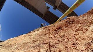 escalada en La Garrofa (Roquetas de Mar, Almeria) 720p