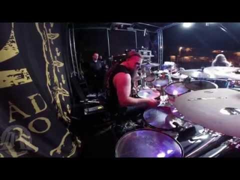 HATE@Alchemy Of Blood-Pavulon-Live in Dark Fest 2015 (Drum Cam)