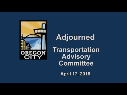 Transportation Advisory Committee  April 17, 2018