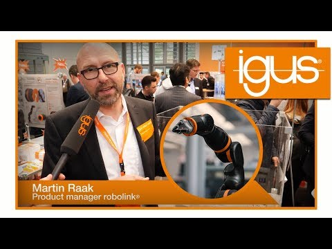 Robot Arm Prototype - low cost, low weight, made from plastic!   igus® news 2018