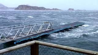 """Orkan """"Dagmar"""" in Norway"""