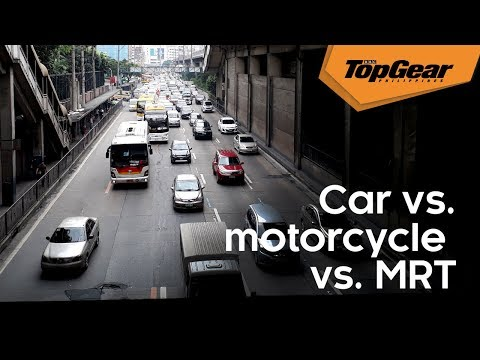 Which mode of transport is quickest along EDSA?