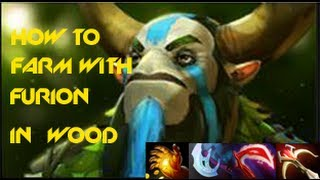 Dota 2 Tutorial Furion Jungle
