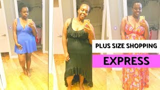 Plus Size Shopping at Express | Dressing Room Confidential