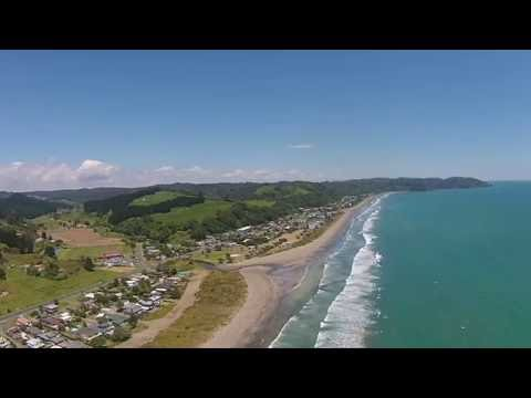 Ohope Beach Drone