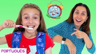 Se apresse para a escola e outras canções infantis por Sunny Kids Songs em Português