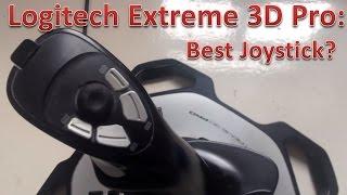 Review: Logitech Extreme 3D Pro Joystick: Affordable & Durable!