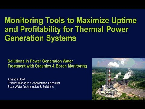Webinar: Monitoring Tools to Maximize Uptime & Profitability for Thermal Power Systems