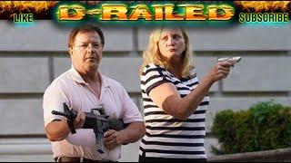 KEN AND KAREN - Mark & Patricia McCloskey St. Louis Couple POINTS AIMS GUNS at Protestors