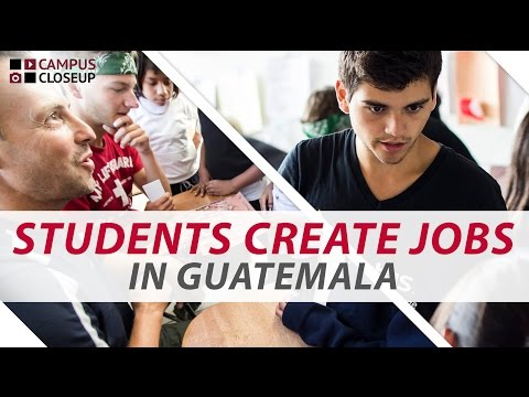 Business Students Create Jobs in Guatemala | Campus Closeup