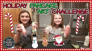 HOLIDAY PANCAKE ART CHALLENGE