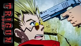 Trigun: Badlands Rumble Motion Picture - available 9/27/11 on BD, DVD & Digital Download - Clip 7