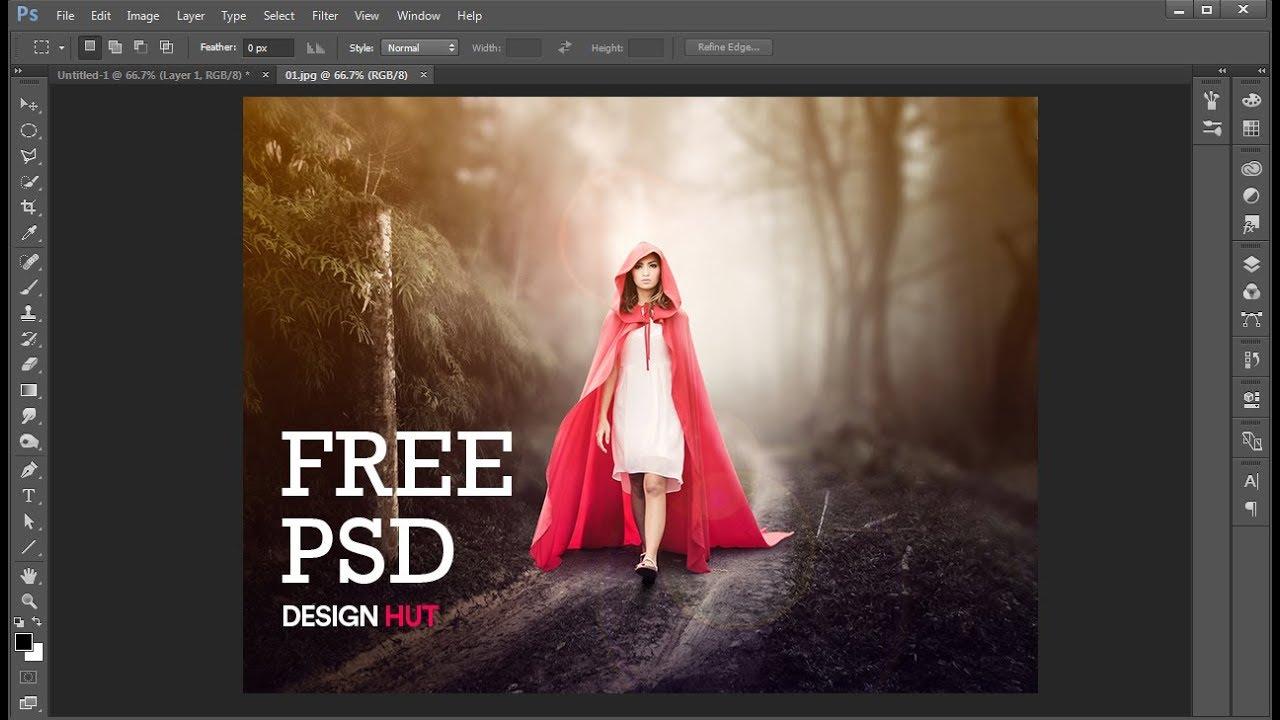 Photoshop manipulation psd files download By Design HUt