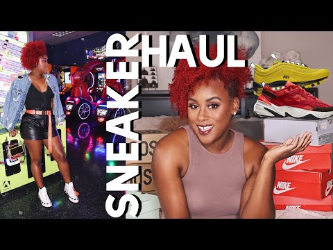 Yet Another Sneaker Haul!!! Fall/Winter Trends feat. NIKE, Yeezy & Off-White Converse
