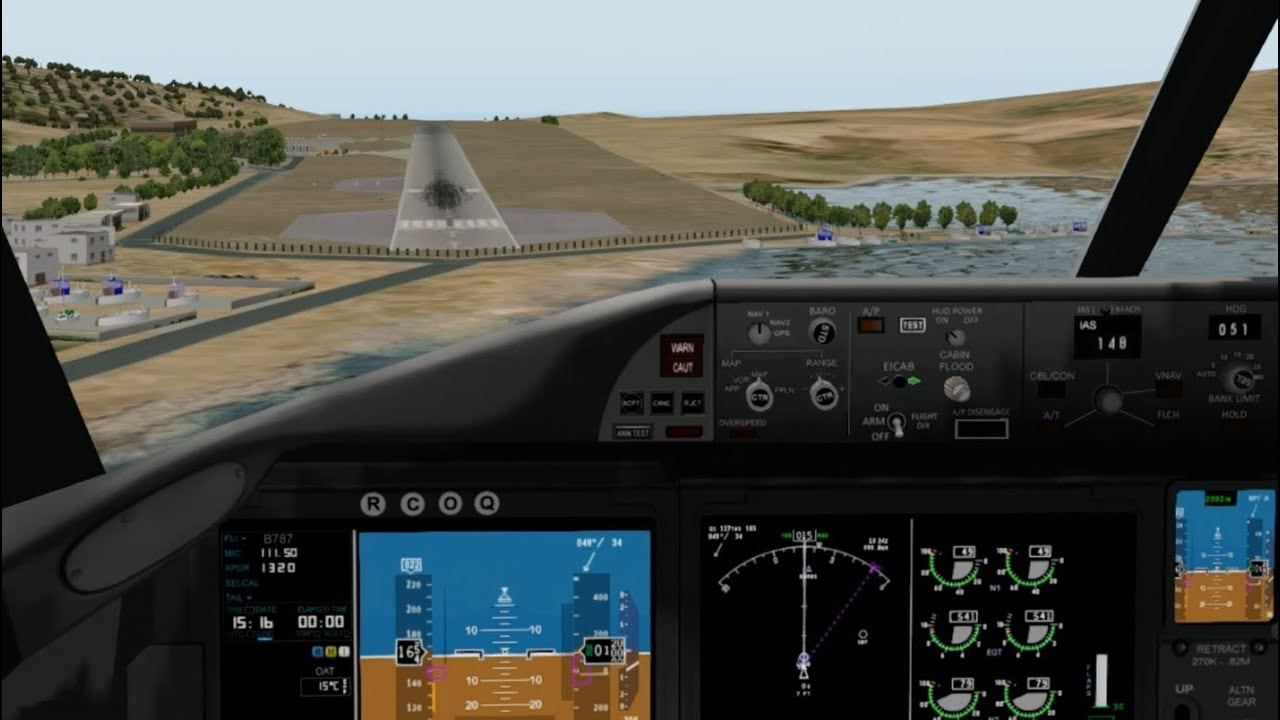 boeing 787 crosswind manual landing skiathos youtube rh youtube com boeing 787 flight crew manual boeing 787 airplane flight manual