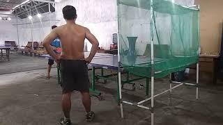 Bambang GA...vs I Pong..trial by robocop in PTM Thrubus Gunung Anyar Surabaya