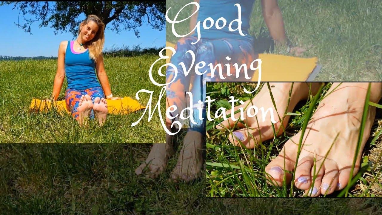 Good Evening Meditation- Letting Go - YouTube