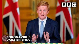 Coronavirus: UK virus hospital patients now below 10,000 - Covid-19 Government Briefing 🔴 - BBC
