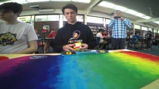 5x5 Rubik's cube former world record: 46.97 seconds