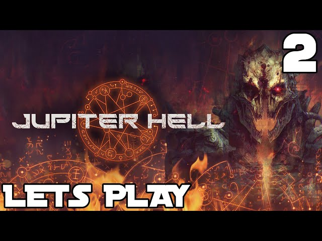 Jupiter Hell gameplay part #2 - DOOM meets Roguelike! | RPG Roguelike