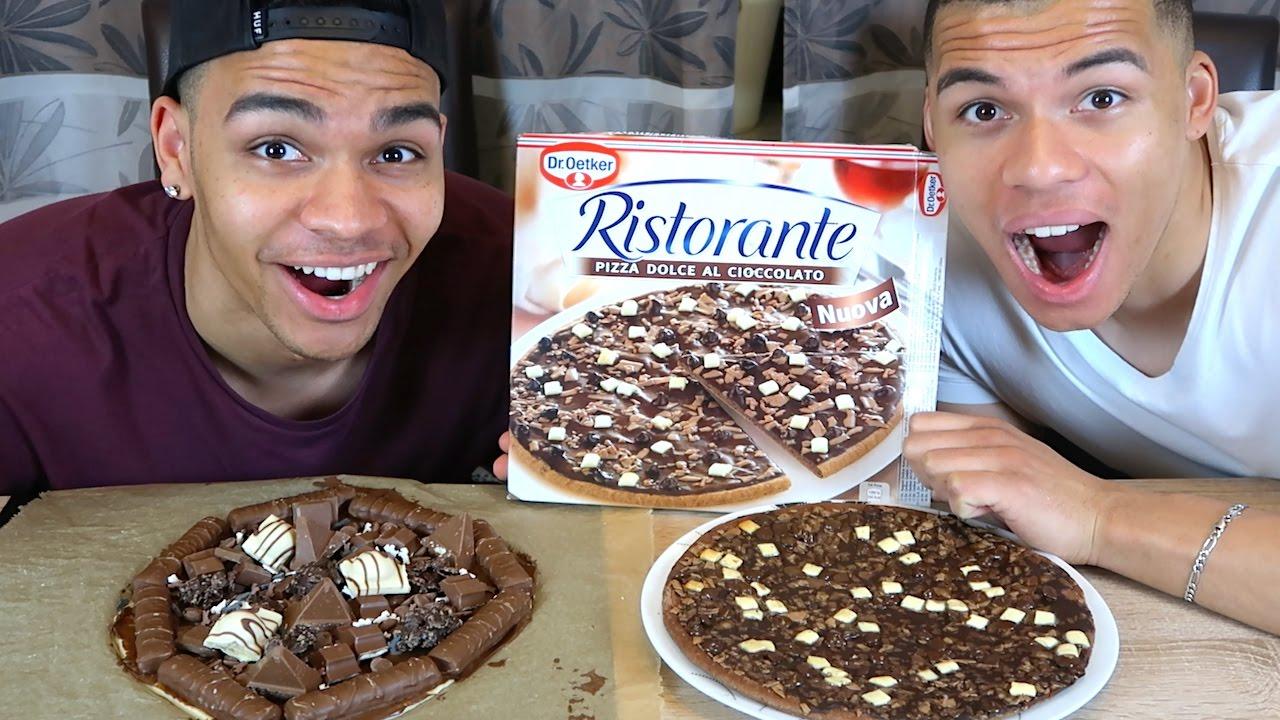 Schokoladen Pizza