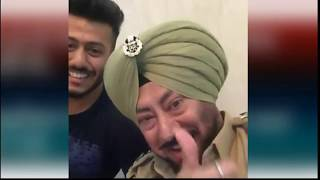 JASWINDER BHALLA COMEDY SCENES WITH HIS SON    POLLYWOOD    COMEDY
