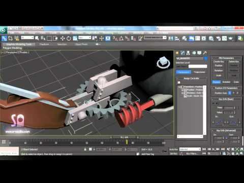 inspirational flex muscles rigging in 3ds max tutorial 30 second animation rigging mechanical objects in 3ds max 265