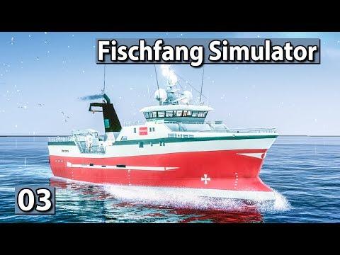 Fischfang Simulator 🐟 Netze auswerfen für die Mission ► Fishing Barents Sea Preview deutsch