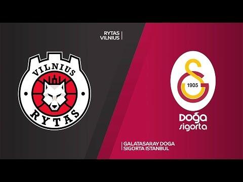 Rytas Vilnius  - Galatasaray Doga Sigorta Istanbul Highlights | 7DAYS EuroCup, T16 Round 6