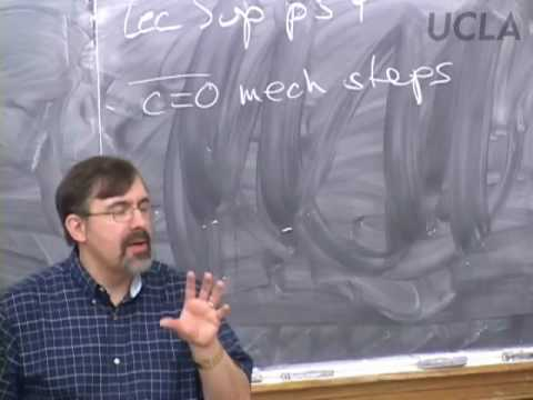 Organic Reactions and Pharmaceuticals, Lec 22, Chemistry 14D, UCLA