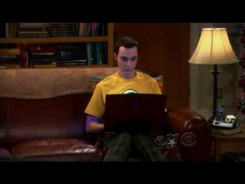Sheldon Cooper likes ubuntu