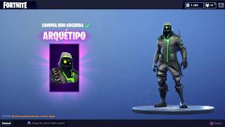 LIVE FORTNITE, I'M GOING TO BUY A NEW SKIN IN THE STORE (SALVE FAMILIA TCHUGUERAS)